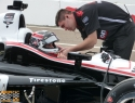 Will Power before practice for the Verizon IndyCar Series Firestone Grand Prix of St. Petersburg