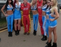 The UFD Girls at the Verizon IndyCar Series Firestone Grand Prix of St. Petersburg