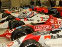 Indy 500 Winning Cars Exhibit