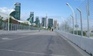 Toronto: Pre-race track walk
