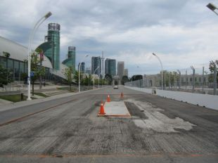 Toronto: Pre-race track walk 2012
