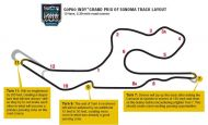 Sonoma releases adjusted INDYCAR layout