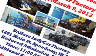 March 9th fundraiser at Indy Dallara factory to benefit Graham Rahal Foundation