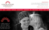 Announcing our third and final charity, the Cancer Support Community of Central Indiana