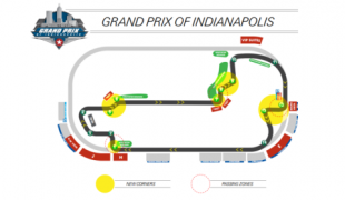 Grand Prix of Indianapolis road course layout and weekend format revealed