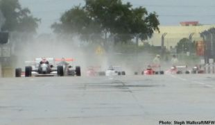 Mazda Road to Indy, Houston day 2: Official race reports