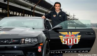 Dario Franchitti to drive Camaro Z/28 pace car at Indianapolis