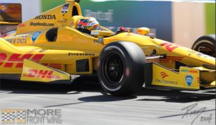 Hunter-Reay takes Verizon P1 Award in Long Beach