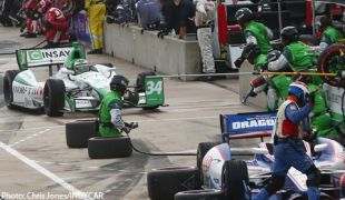 Andretti-HVM penalized for pit lane infractions at Barber