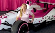 Pippa Mann to run Dale Coyne No. 63 in Indy 500 in partnership with Susan G. Komen