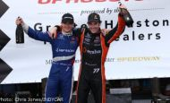 Pagenaud leads Schmidt Peterson 1-2 in Shell and Pennzoil Grand Prix of Houston race 2