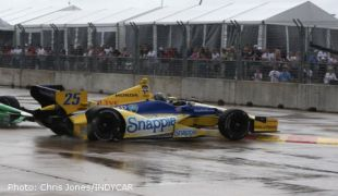 "Walker on Andretti penalty: ""We made a new rule"""