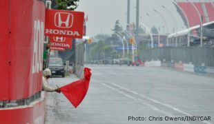 Rain postponement forces single-day IndyCar doubleheader in Toronto
