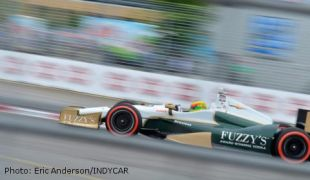 Conway tire gamble pays off with victory in IndyCar race 2 in Toronto