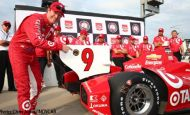 Dixon leads Ganassi front-row qualifying sweep at Iowa