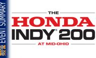 EVENT SUMMARY: 2014 Honda Indy 200 at Mid-Ohio