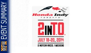 EVENT SUMMARY: 2014 Honda Indy Toronto