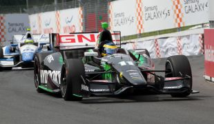 Bourdais claims race 1 of single-day IndyCar doubleheader in Toronto