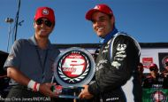 Montoya takes pole at Pocono, first Verizon P1 Award since IndyCar return