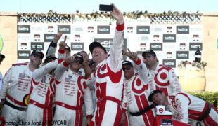 Dixon wins Sonoma, Power carries championship lead into finale