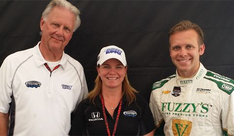 Carpenter and Fisher teams to merge for 2015 Verizon IndyCar Series season