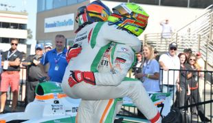 Gutierrez wins the battle and Pigot wins the Pro Mazda war at Sonoma