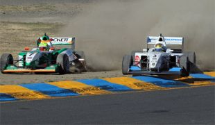 MRTI: Pro Mazda and USF2000 titles up for grabs after dramatic first races at Sonoma