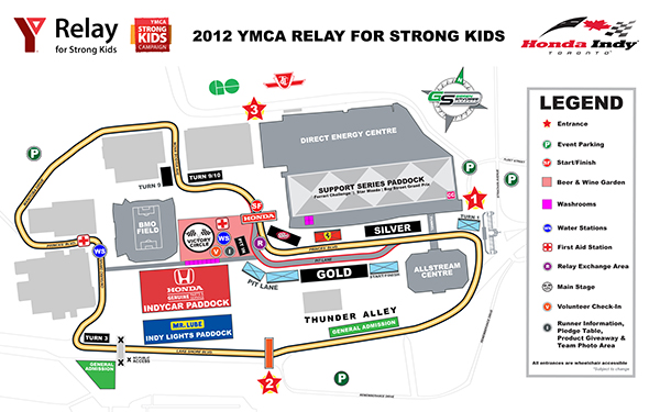 HIT 2012 track map