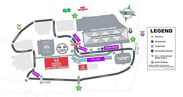 HIT 2013 track map