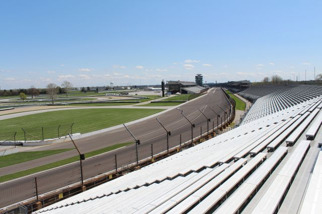 Turn 4 location, where you can see nearly half the track.