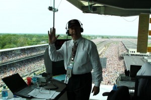Mike King during the 2011 Indy 500.