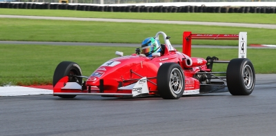 USF2000 racer Daniel Burkett at Mid-Ohio Sports Car Course
