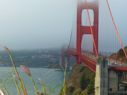 The view of the Golden Gate Bridge as I crossed from San Francisco on the way to Sonoma Raceway this morning. The scenery in this area is simply stunning.