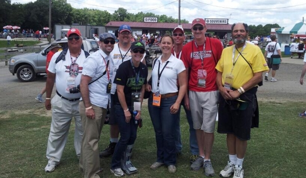 Great IndyCar fans at Mid-Ohio Sports Car Course for the Honda Indy 200