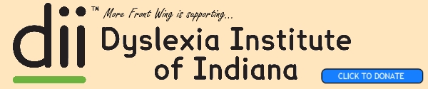 More Front Wing supports Dyslexia Institute of Indiana. Click to donate!