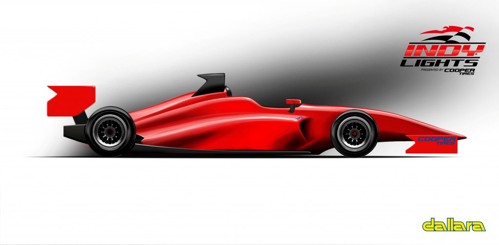 Indy Lights IL-15 New Chassis Oval View