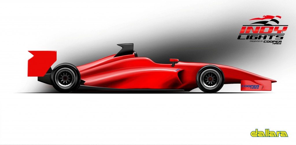 Indy Lights IL-15 New Chassis Road Course