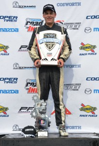 RC Enerson claims overall victory in USF2000 at Cooper Tires Winterfest