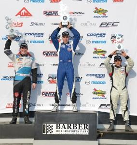 Pigot tops the podium in Pro Mazda at Cooper Tires Winterfest