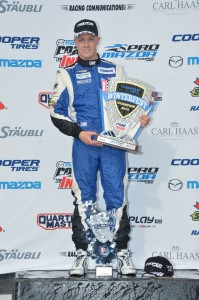 Spencer Pigot claims the overall Cooper Tires Winterfest title at Barber Motorsport Park
