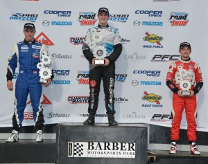 Scott Hargrove wins the final Pro Mazda race of Cooper Tires Winterfest