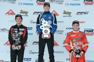 USF2000-Race 3 Podium