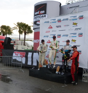 Pigot tops podium in Pro Mazda race 1 at Grand Prix of St Petersburg