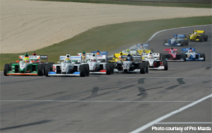 Pro Mazda race 2 from Barber Motorsports Park