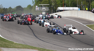 USF2000 races 1 and 2 at Barber Motorsports Park