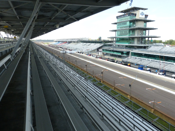 Grand Prix of Indianapolis view from A Penthouse