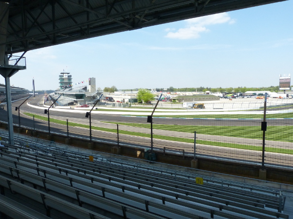 Grand Prix of Indianapolis view from E Stand
