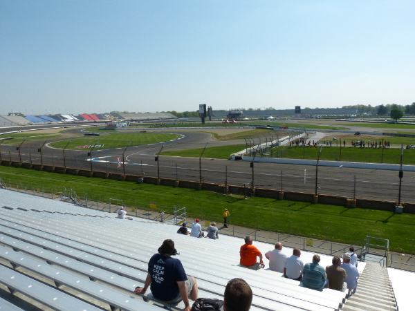 Grand Prix of Indianapolis view from H Stand
