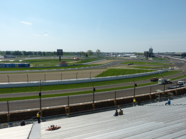 Grand Prix of Indianapolis view from NW Vista
