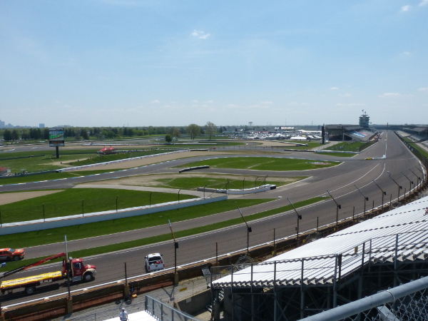 Grand Prix of Indianapolis view from NW Vista Deck